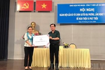 Phú Nhuận khuyến khích phát triển hệ thống điện mặt trời mái nhà
