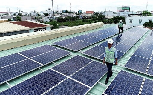 Long An đã có 1.182 dự án điện mặt trời mái nhà hòa lưới