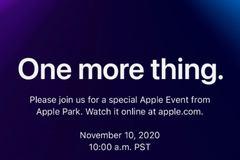 Apple sẽ công bố gì trong sự kiện 10/11?