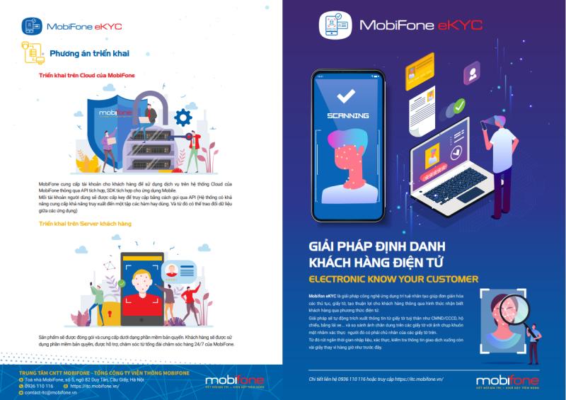 Định danh điện tử eKYC của MobiFone: Đưa AI vào đời sống