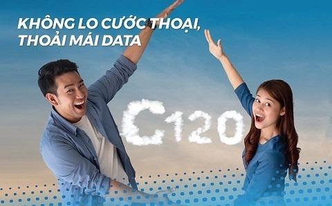 Tặng 6 tháng sử dụng data miễn phí khi đăng ký gói cước C120 của MobiFone