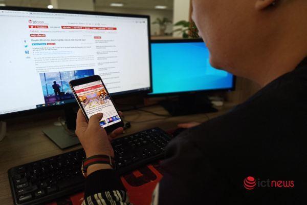 Vừa dùng máy tính vừa vuốt điện thoại có thể khiến người trẻ suy giảm trí nhớ?