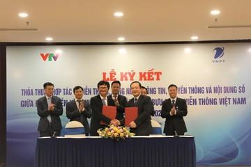 VNPT và VTV hợp tác để chuyển đổi số