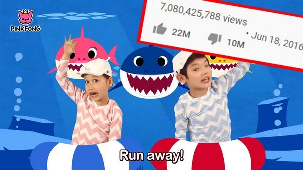 'Baby Shark Dance' và chiếc cần câu cơm của YouTube