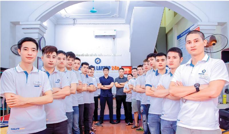 """Sửa chữa Laptop 24h.com: """"Thành công mà chúng tôi có được chính nhờ đội ngũ nhân viên"""""""