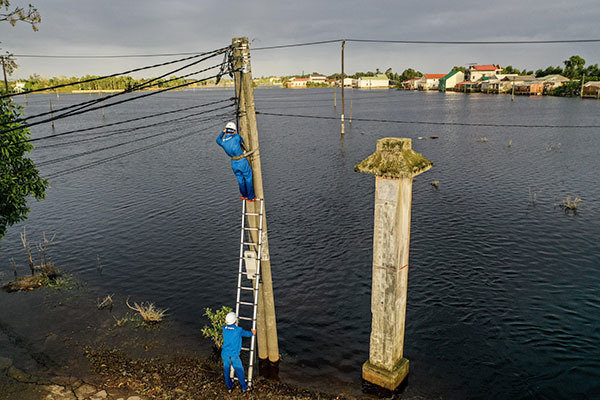 Nhà mạng phải sẵn sàng phương án roaming tại các địa phương bị ảnh hưởng bão