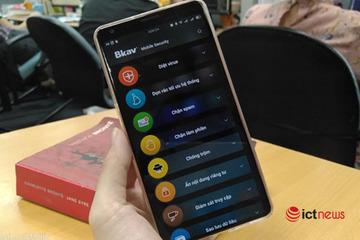 Ra mắt phần mềm bảo đảm an toàn giao dịch ngân hàng dành cho smartphone