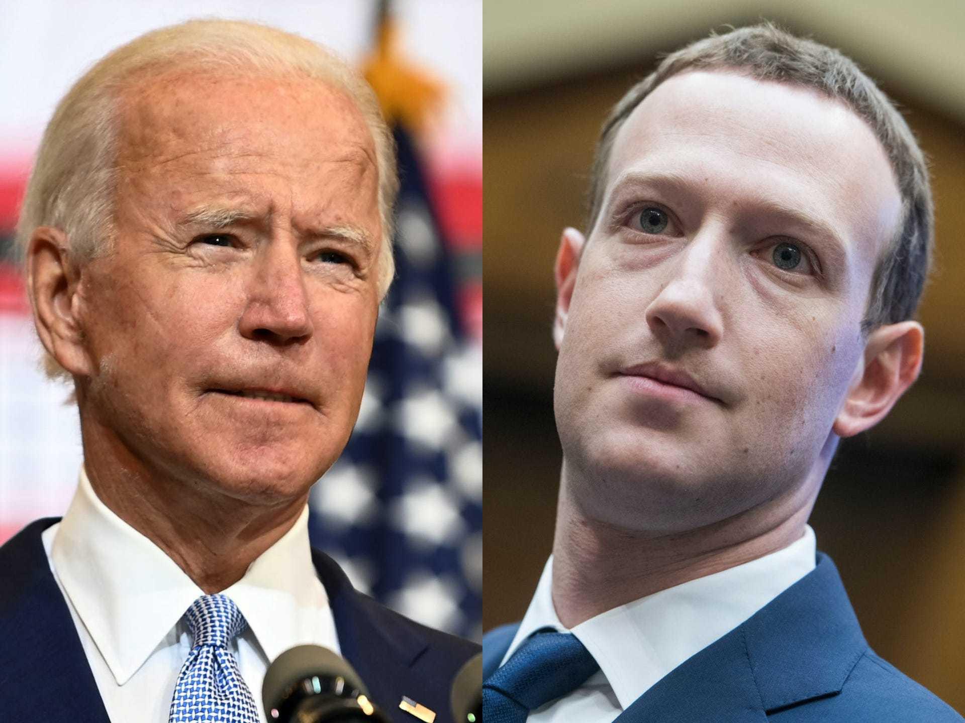 Nhân viên chiến dịch Biden chỉ trích Facebook 'xé nhỏ cấu trúc nền dân chủ'