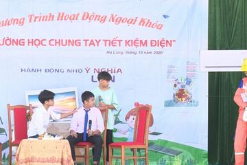 Quảng Ninh đưa chương trình tiết kiệm điện vào trường học