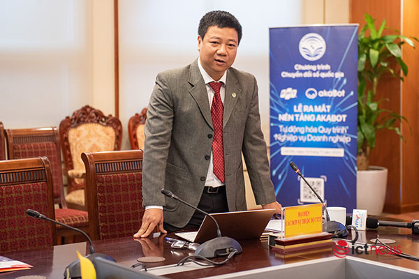"""Nền tảng """"Make in Vietnam"""" akaBot giúp doanh nghiệp nắm bắt nhanh cơ hội từ chuyển đổi số"""