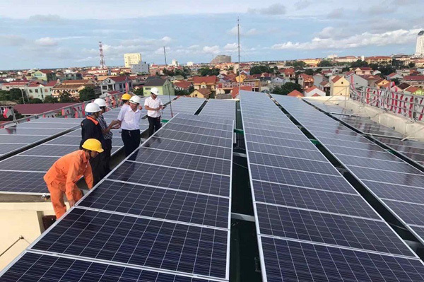 Khuyến khích phát triển điện mặt trời áp mái ở Điện Biên