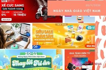 Sàn TMĐT lại 'rục rịch' chiến dịch mới sau ngày siêu sale 11/11