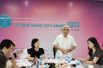 Trao 53 giải thưởng thành phố thông minh Việt Nam 2020 vào ngày 24/11