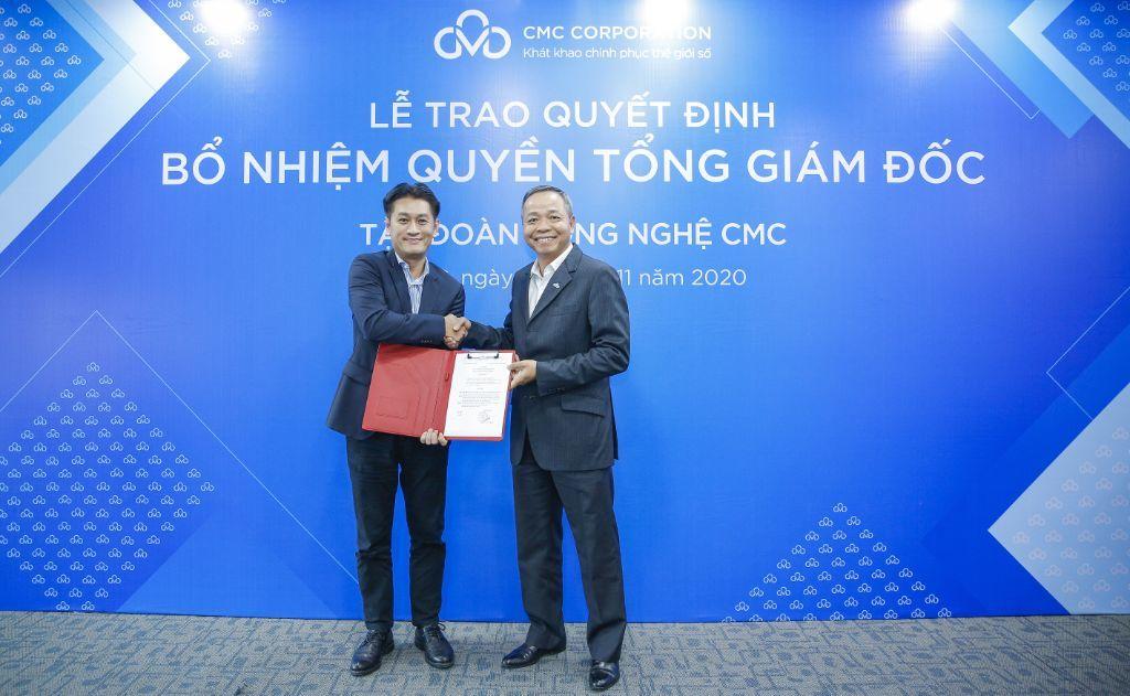 Tập đoàn công nghệ CMC bổ nhiệm quyền Tổng giám đốc