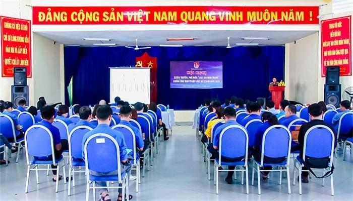 Đoàn viên thanh niên thành phố Nha Trang được tập huấn Luật An ninh mạng
