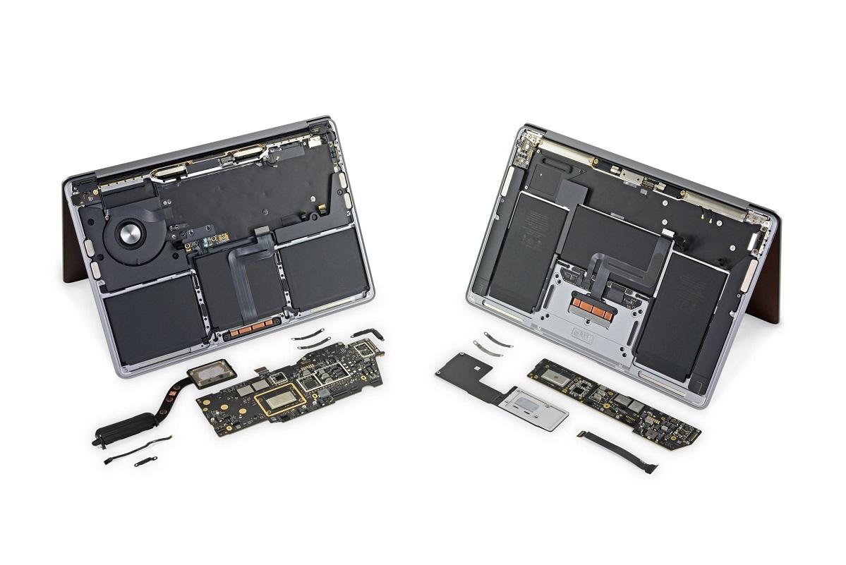 Bên trong máy MacBook mới chip M1 có gì?