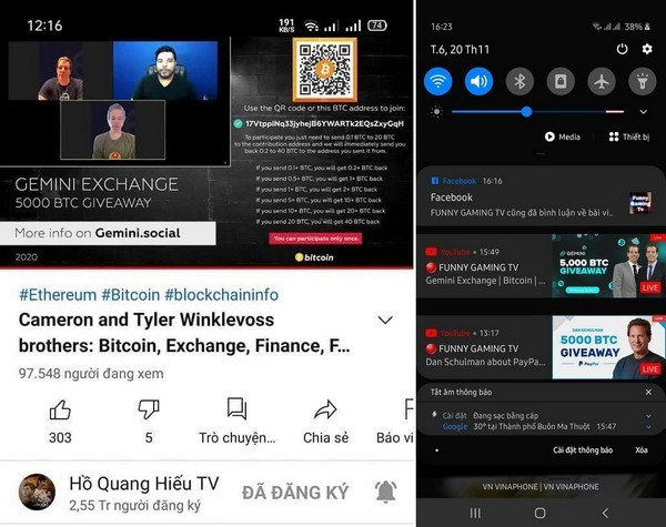 Hàng chục kênh YouTube triệu subs của Việt Nam bị kẻ gian chiếm đoạt