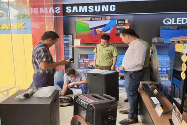 Phú Thọ: Hơn 80% thiết bị âm thanh không dây thiếu chứng nhận hợp quy