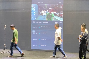 Ra mắt giải pháp chấm công bằng camera AI