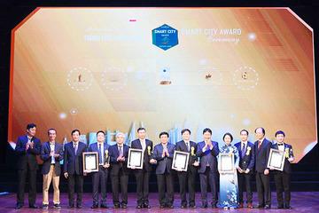 Vinh danh 26 đơn vị xuất sắc trong xây dựng thành phố thông minh Việt Nam 2020