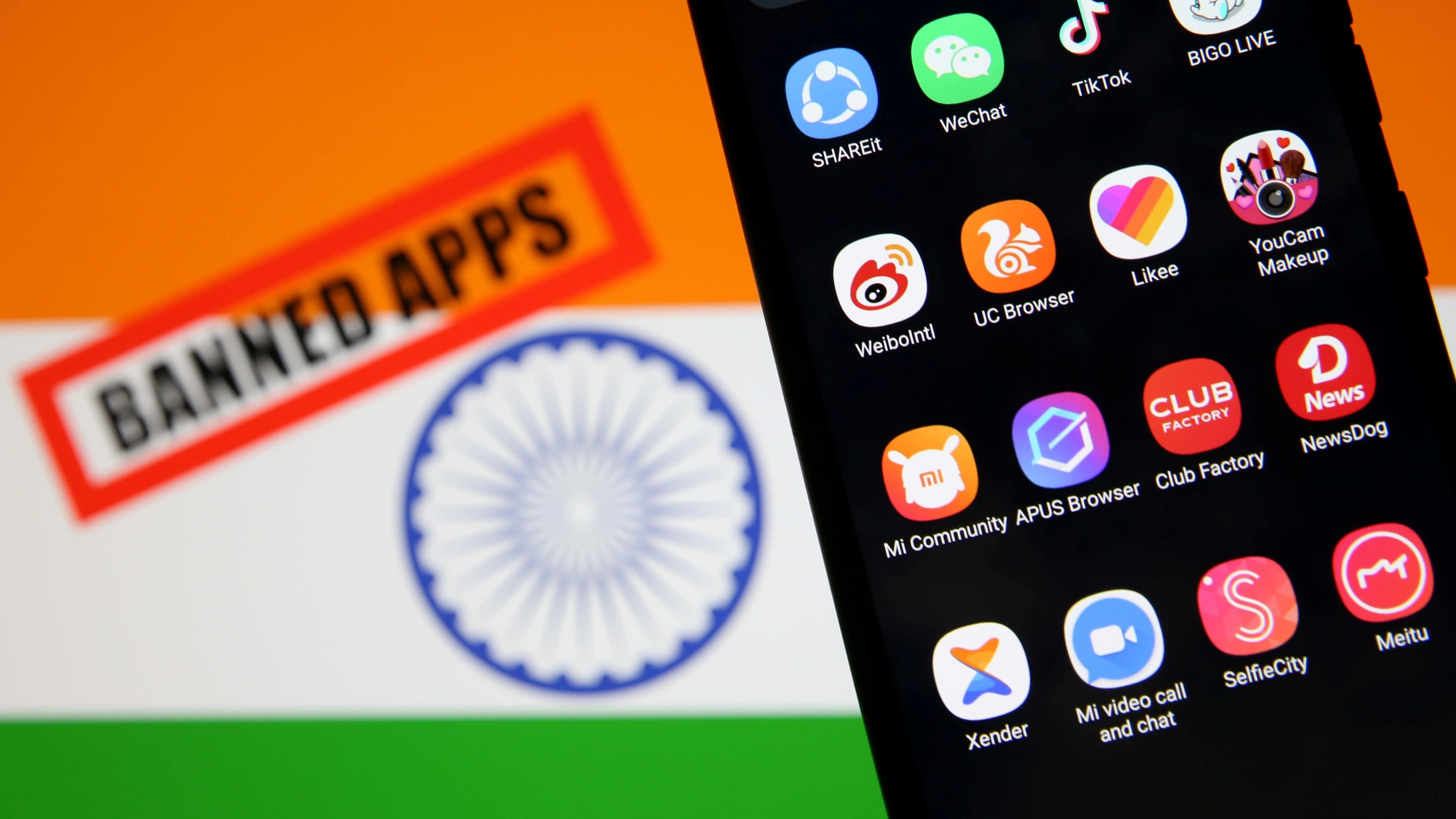 Ấn Độ cấm thêm hàng chục ứng dụng Trung Quốc