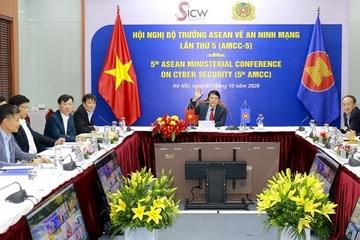 Việt Nam tham dự trực tuyến Hội nghị Bộ trưởng ASEAN về An ninh mạng
