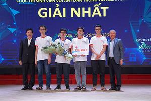 """Đại học KHTN TP.HCM vô địch cuộc thi """"Sinh viên với ATTT ASEAN 2020"""""""