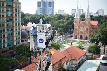 MobiFone triển khai các hoạt động trải nghiệm 5G tại TP. Hồ Chí Minh tháng 12/2020