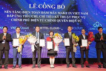 Bộ TT&TT công bố 5 nền tảng điện toán đám mây Make in Việt Nam đáp ứng tiêu chuẩn