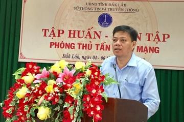 Đắk Lắk diễn tập với đội Ứng cứu sự cố an toàn thông tin mạng