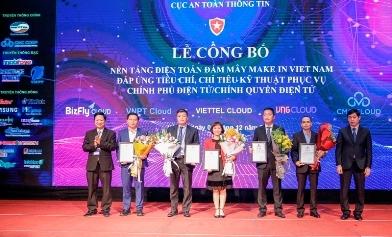 CMC Telecom đạt TOP doanh nghiệp tiêu chuẩn xây dựng chính phủ số