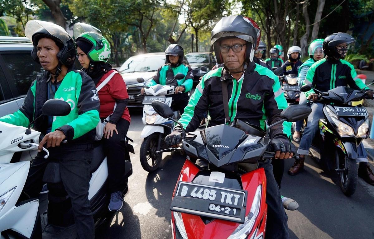 Indonesia: Tài xế Gojek và Grab dọa đình công trước thông tin sáp nhập