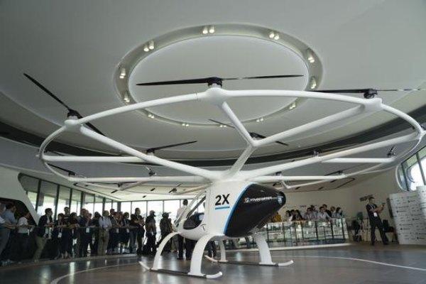 Singapore sẽ thương mại hoá dịch vụ taxi bay
