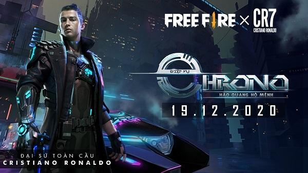 Hé lộ nhân vật của Cristiano Ronaldo trong Free Fire mới nhất!!!