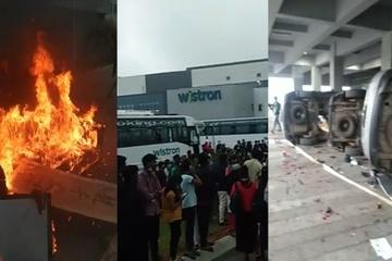 Bạo lực bùng phát ở nhà máy sản xuất iPhone tại Ấn Độ