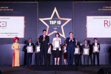 """Rikkeisoft dành giải thưởng """"Top 10 doanh nghiệp CNTT"""" về lĩnh vực IoT"""