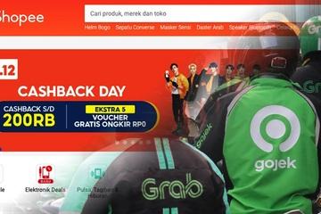 Công ty mẹ Shopee khiến các nhà đầu tư mong Grab – Gojek sáp nhập
