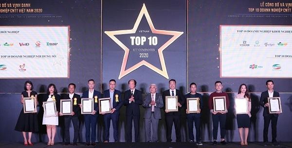 VinID giành 2 giải thưởng 'Top 10 doanh nghiệp ICT Việt Nam' 2020