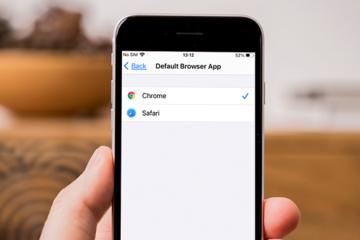 Hướng dẫn đổi trình duyệt mặc định trên iPhone