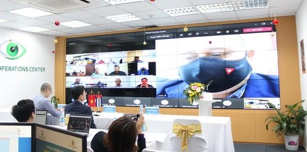 Việt Nam đào tạo an ninh mạng trực tuyến cho Cuba