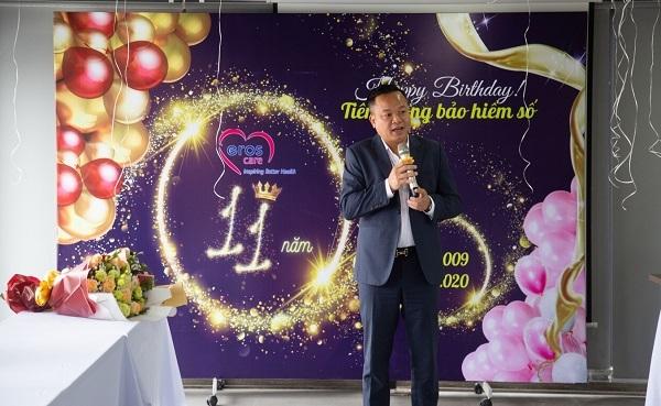Bảo hiểm số Eroscare kỷ niệm 11 năm sinh nhật