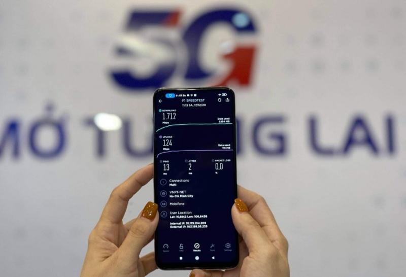 MobiFone sẽ khai trương đồng loạt 50 trạm phát sóng 5G tại Tp.HCM trong thời gian tới