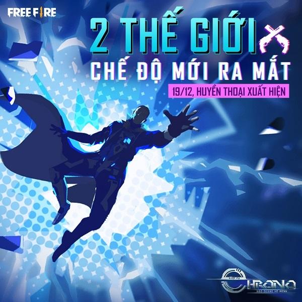 Hé lộ vũ trụ xoay quanh nhân vật của Chrono, cảm hứng từ CR7 trong Free Fire