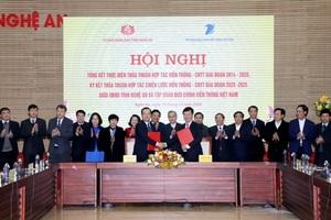 UBND tỉnh Nghệ An và Tập đoàn VNPT ký kết Thỏa thuận hợp tác chiến lược Viễn thông – CNTT giai đoạn 2020 – 2025