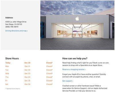 Gần 100 Apple Store đóng cửa