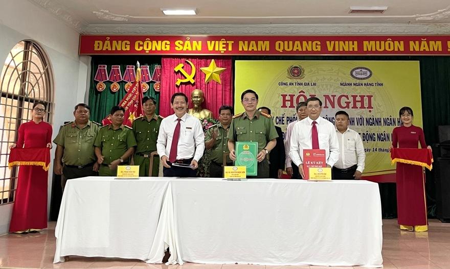 Công an tỉnh Gia Lai ký quy chế hỗ trợ bảo vệ an ninh mạng cho ngân hàng