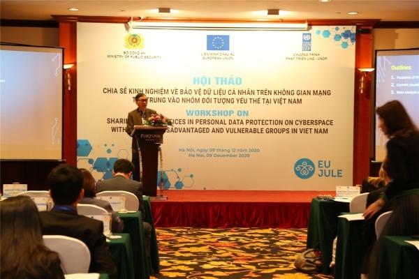Ngành Công an và tư pháp phối hợp bảo vệ dữ liệu cá nhân tại Việt Nam