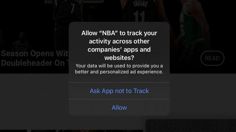 iPhone bắt đầu hỏi ý kiến việc theo dõi của các app, trong đó có Facebook