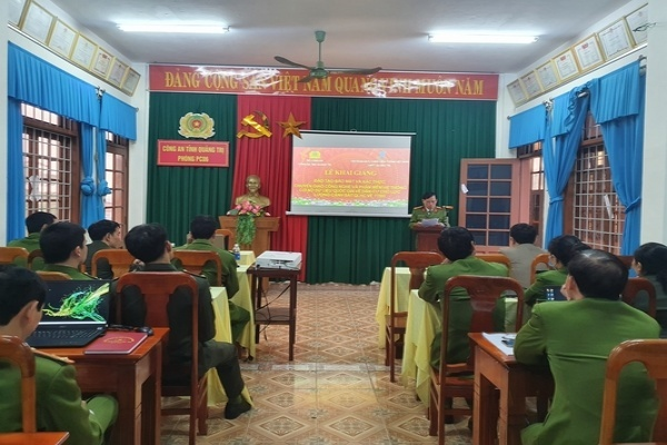 Quảng Trị khai giảng lớp đào tạo bảo mật và xác thực hệ thống CSDLQG về dân cư