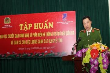 Tập huấn bảo mật, xác thực hệ thống CSDLQG về dân cư tại Hà Nam